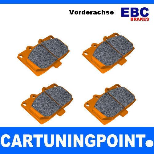 EBC FORROS DE FRENO DELANTERO OrangeStuff para Subaru (XV) - DP91661
