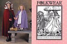 Folkwear Kinsale Cloak for Young Maidens Girls' size 2-12 Sewing Pattern # 208