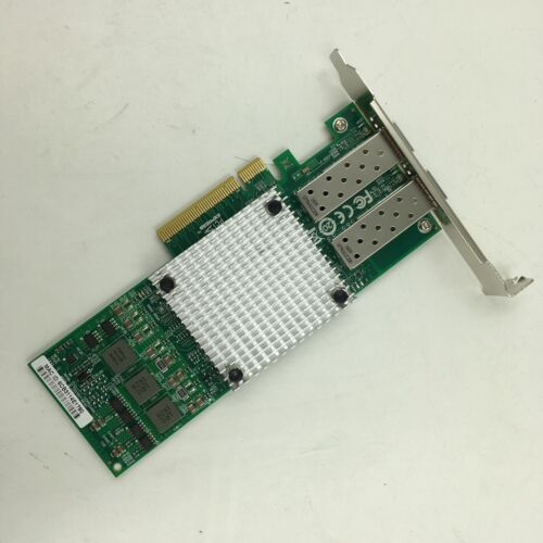 PCIe x8 Ethernet Converged Network Adapter US NEW BCM57810S 10GB Dual Port SFP