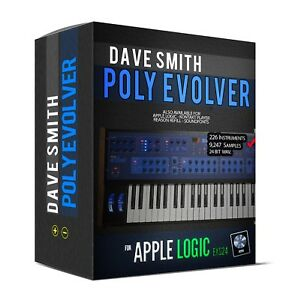 Details about Dave Smith POLY EVOLVER for Apple Logic EXS24 Sample Library  sounds samples