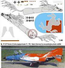 Peddinghaus 1/48 German F-4F Phantom II '35 Years' Markings JG 72 Westfalen 1297