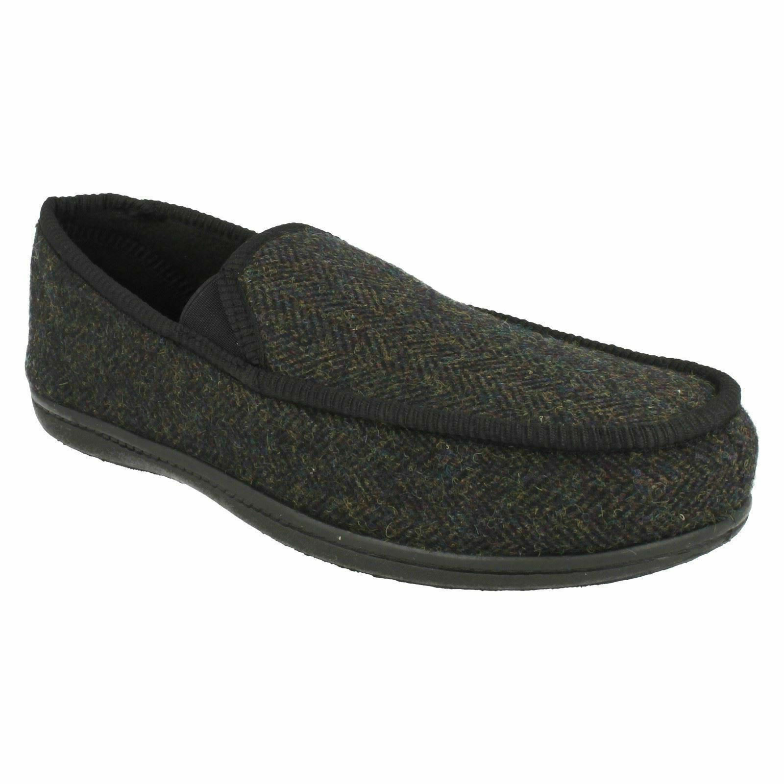 KING ON DONARD Hombre CLARKS SLIP ON KING WARM HOUSE WINTER INDOOR SLIPPERS Zapatos b7890b