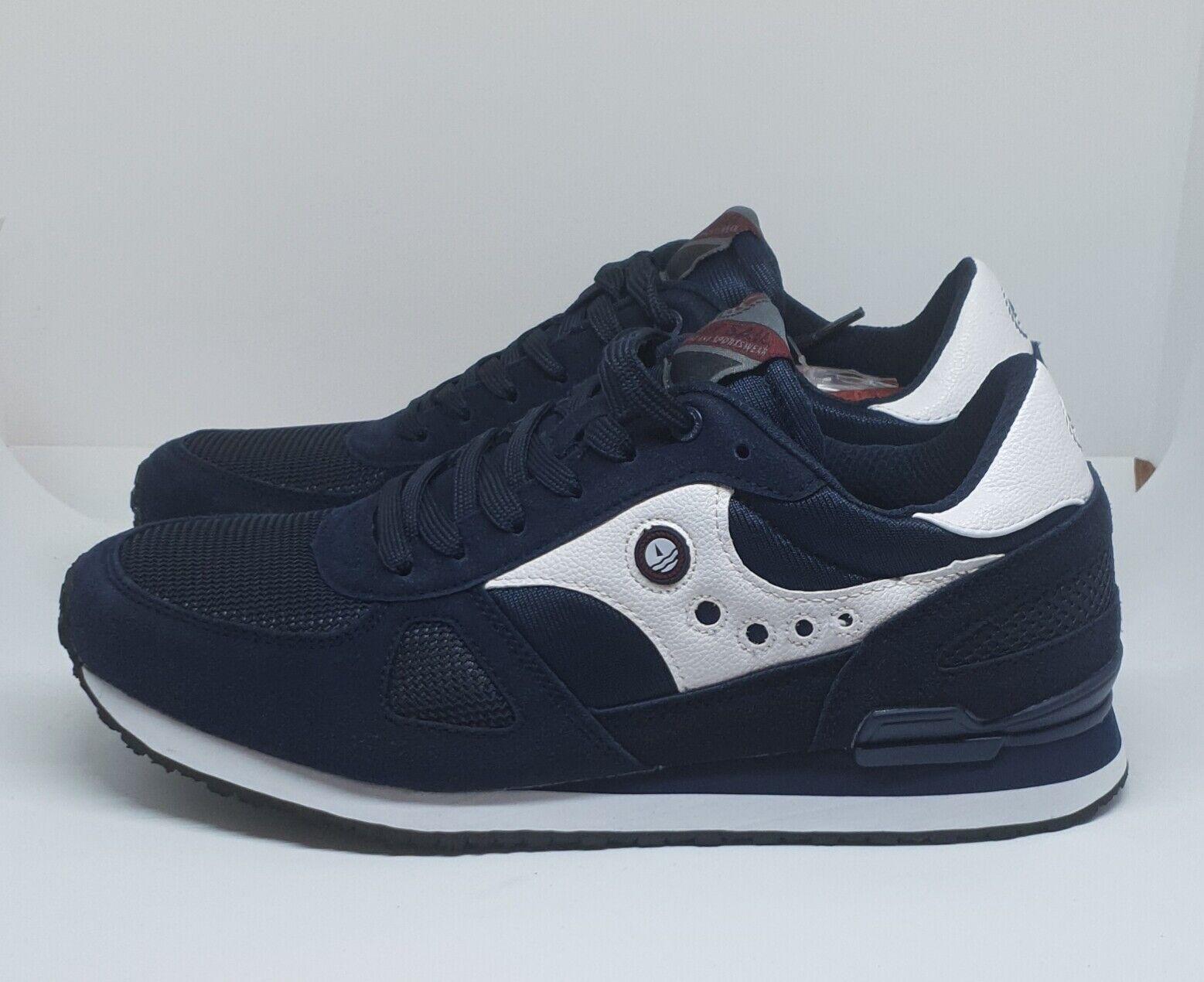 Dettagli su Navy Sail by Navigare Flash NAM923015 Scarpa Sneakers Uomo