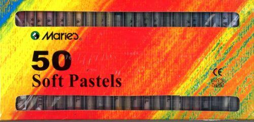 50 St Marie/'s FUSAIN PASTEL Craies pastels warmtöne 323b