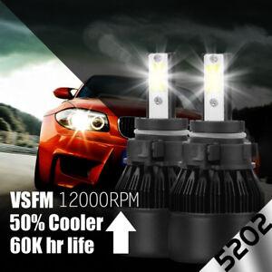 XENTEC LED HID 6000K Foglight kit 5202 12086 H16 GMC Sierra 1500 2007-2015