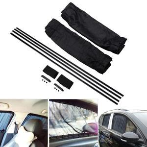 2X-Auto-UV-Sonnenschutz-Seitenscheibe-Vorhang-Sichtschutz-Kinder-amp-Baby-70x40cm