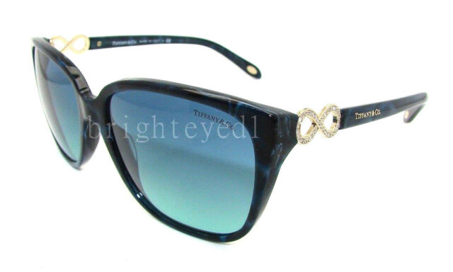 7d7f046d8f19 Authentic TIFFANY   CO. Square Shell Blue Sunglass TF 4111B - 82009S ...