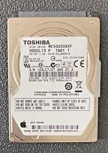 Mac-Catalina-Toshiba-500GB-SATA-2-5-034-Hard-Drive-5400RPM-MK5065GSXF-HD-Apple-OS