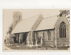 Lound-Church-Vintage-RP-Postcard-743a