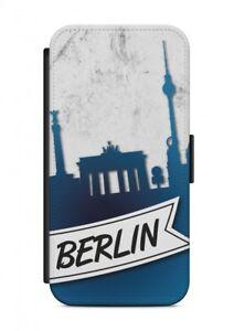 iPhone-Berlin-Funda-Flip-cubierta-de-la-caja-sobres-Proteccion-para-movil
