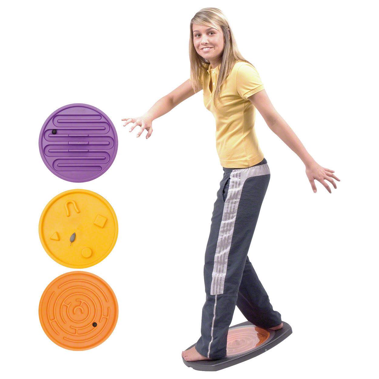 Balanco movimiento juego en zigzag juego con 3 wechselbaren inserciones