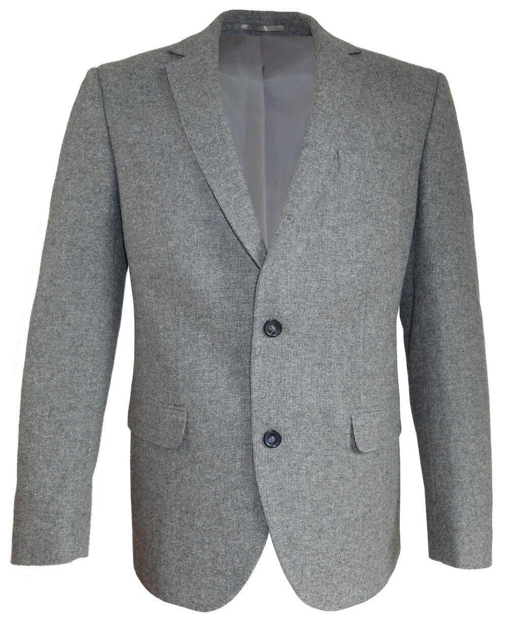 GEBRÜDER WEIS SAKKO MODERN FlT Style Gr. 50 bis bis bis 58 25 bis 27 HELLGRAU MELANGE   Outlet Online Store  709267