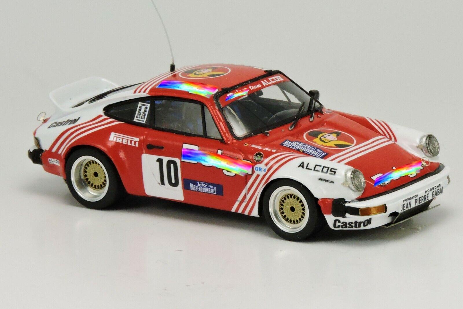 Kit Porsche 911 SC GR.4  10 Duez-Lux Haspengow 1982 - Arena Models kit