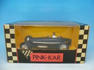 Pink Kar Cv002 Type 59 de Bugatti en noir, édition limitée, neuf, dans l'emballage d'origine
