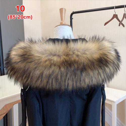 jacke für dekor mantel mit pelzkragen lady pelzkragen faux waschbär kapuzen
