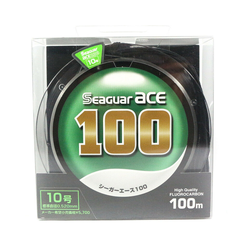 [Seaguar] Ace Fluoroautobon Leader Line 100m Dimensione 10  10.4kg  0.52mm  1353