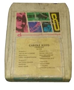 Vintage-8-Track-Cassette-Cartridge-eight-Carole-king-tapestry