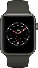 Apple Watch Edition 42mm Keramikgehäuse in Grau mit Sportarmband in Grau/Schwarz
