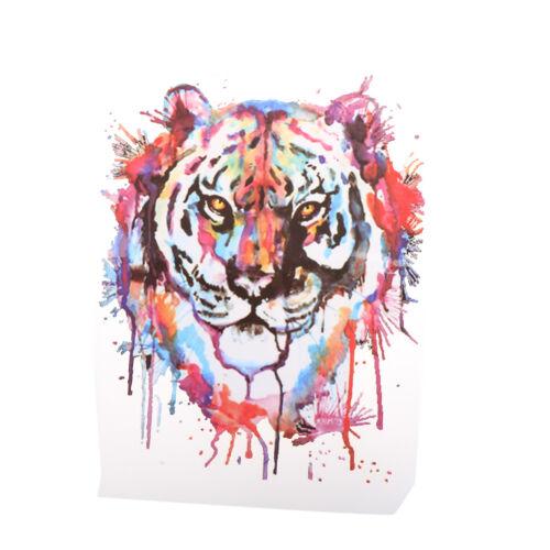 Tiger Patches Vêtements Lavable Lavage Autocollants Impression Sur T-shirt Robes