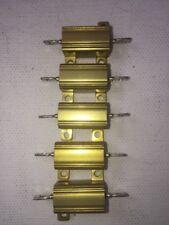 Tepro 5 Pack 10 Watt 01 Ohm 3 Tolorence Resistors