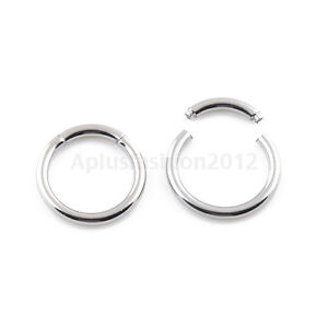 2pc16G-14G-Surgical-Steel-Segment-Captive-Bead-Ring-Septum-Nipple-Lip-Ear-Tragus