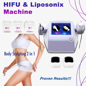 Details about Body Sculpting 2 in 1 HIFU Liposonix Skin Tightening Weight  loss