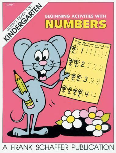 Beginning Activities with Numbers (.. 9780867340143 by Carson-Dellosa Publishing
