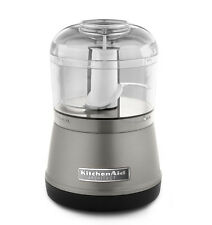 KitchenAid RR-KFC3511 KFC3511CS 3.5 Cup Food Chopper Processor Cocoa Silver