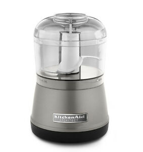 KitchenAid RR-KFC3511 KFC3511CU 3.5 Cup Food Chopper Processor Contour Silver