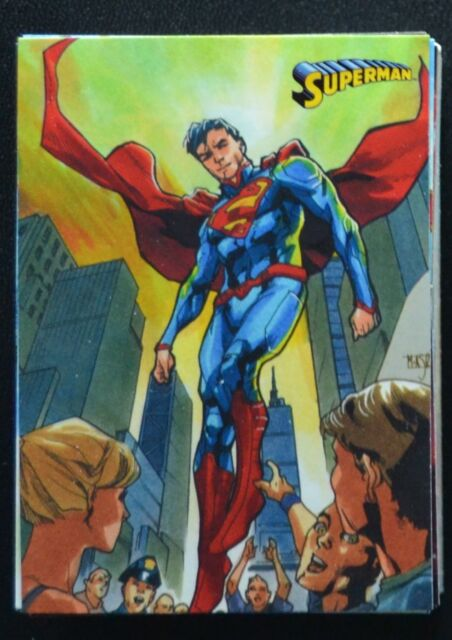 Cryptozoic DC Superman The Legend Base Set 1 - 62 Trading Cards