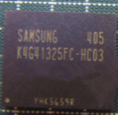 4pcs*   Brand New   K4G10325FG-HC04    BGA  IC  Chip
