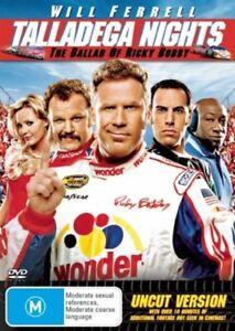 DVD-Talladega-Nights-The-Ballad-of-Ricky-Bobby-Will-Ferrell-FREE-POST-P1