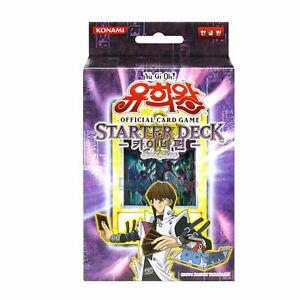 Yu-Gi-Oh-Yugioh-Card-STARTER-Deck-034-KAIBA-034-KOREAN-Ver-Toys-Collectible-Card