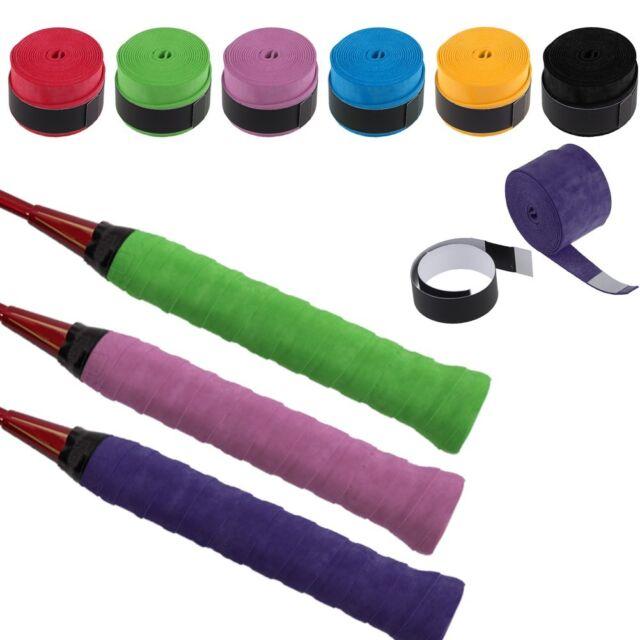 2pcs Anti-slip Racket Over Grips Tennis Badminton Racquet Sports Squash Tape