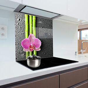 Glass Splashback Heat Resistant Toughened Glass 60x65cm