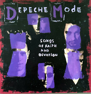 Depeche Mode CD Songs Of Faith And Devotion - France