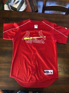 check out c944e c8a38 Details about Vintage Majestic Athletic Apparel St Louis Cardinals Jersey  #31 Men's Medium MLB