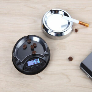 Ashtray-Pocket-Scales-0-01g-Mini-Digital-Weight-Electronic-Gold-Jewelry-Weighing