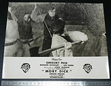 PHOTO CINEMA WARNER BROS 1956 MOBY DICK JOHN HUSTON GREGORY PECK CAPITAINE ACHAB