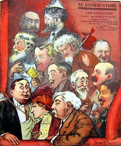 Hanger-Cover-Comoedia-Shown-N-13-1909-Poster-Georges-Villa-Theatre