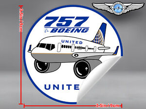 UNITED-AIRLINES-UAL-PUDGY-BOEING-B757-B-757-DECAL-STICKER