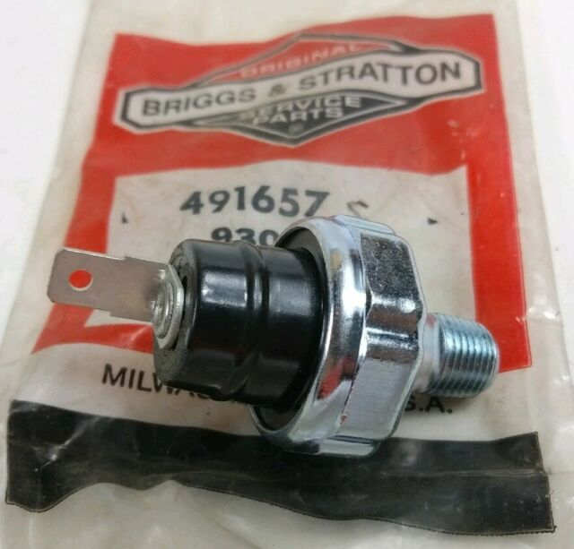 Briggs /& Stratton OEM 491657S replacement oil pressure switch