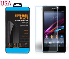 9H ULTRA CLEAR TEMPER GLASS SCREEN PROTECTOR FOR SONY XPERIA Z1 L39H C6903 USA