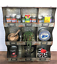 Industrial-Wall-Unit-Shelf-Storage-Cupboard-Cabinet-Pigeon-Hole-Vintage-Kitchen thumbnail 4