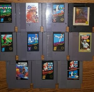 11-Classic-NES-Nintendo-Video-Games-Lot