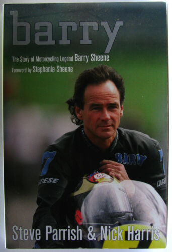 1 of 1 - #ST3,, S Parrish & N Harris BARRY MOTORCYCLING LEGEND BARRY SHEEN, SC GC