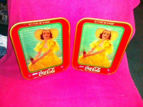 1938 cocacola tray american art works Excellent Condition