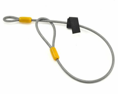 "Flexible Steel Charity!!! 53cm x 5mm OnGuard 8045 Akita Cable Lock 1.72/'x0.20/"""