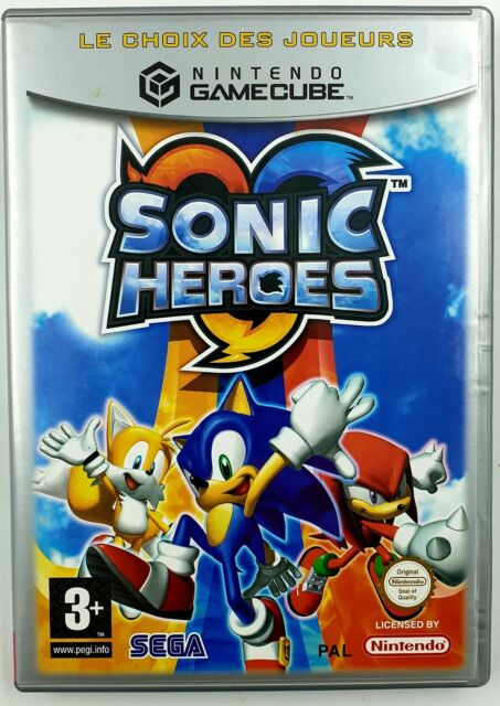 Sonic Heroes -  Gamecube - Avec notice / TBE - PAL FR