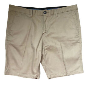 BILLABONG-mens-Shorts-Size-38-Khaki-Tan-Cotton-LIKE-NEW-pockets-EUC-Chinos